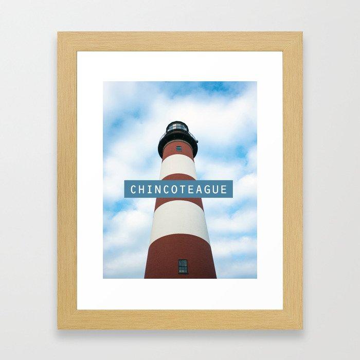 Chincoteague Island. Framed Art Print