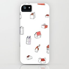 """""""Houses"""" iPhone Case"""