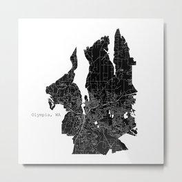 Olympia, WA Metal Print