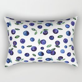Blueberries Rectangular Pillow