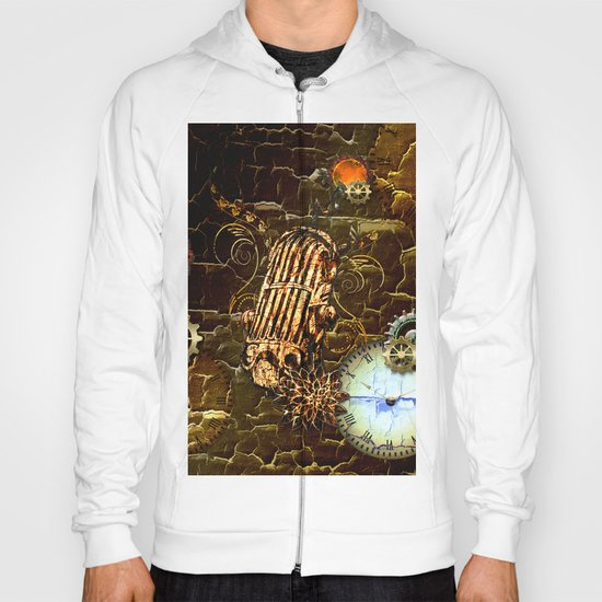 Steampunk, micropphone Hoody