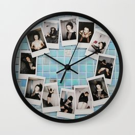 Polaroids Wall Clock