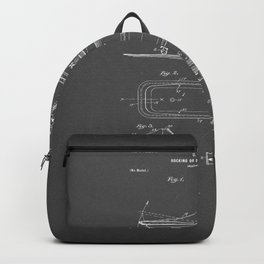 Rocking Oscillating Bathtub Patent Engineering Drawing Backpack