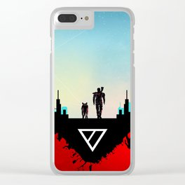 The Last of Us Clear iPhone Case