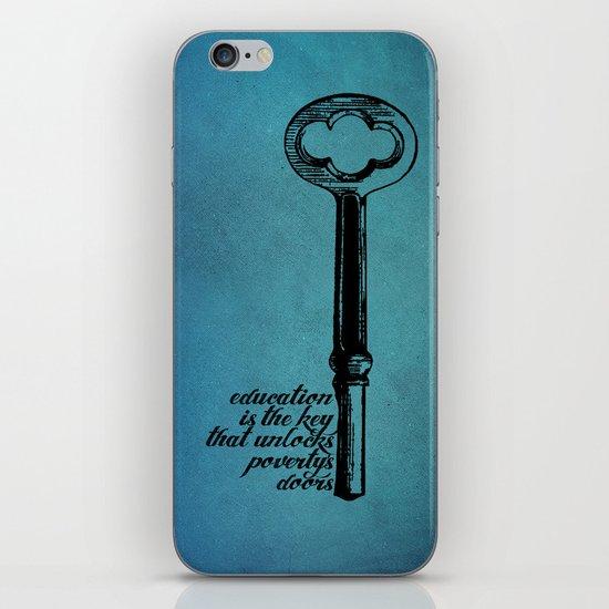 Education Key. iPhone & iPod Skin
