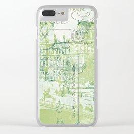 springtime in Paris Clear iPhone Case