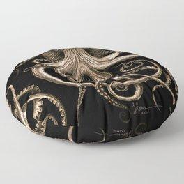 Bronze Kraken Floor Pillow