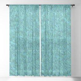 Abstract 92 Sheer Curtain