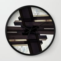 crystal Wall Clocks featuring Crystal by CrookedHeart