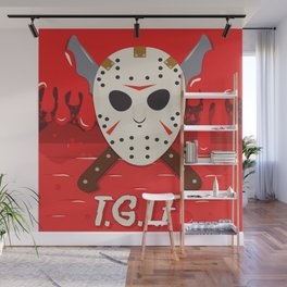 T.G.I.F- Friday the 13th Wall Mural