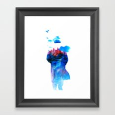 Get Away From Town (color version) Framed Art Print