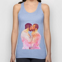 THE KISS Unisex Tank Top