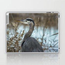 Ridgefield Heron, No. 1 Laptop & iPad Skin