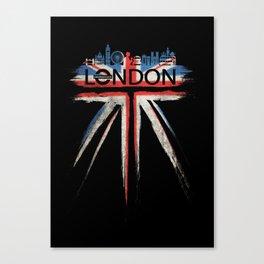 London Pride_Black Canvas Print