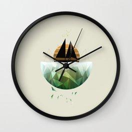 VIRGO BOAT Wall Clock