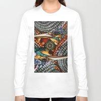 gemini Long Sleeve T-shirts featuring Gemini by Thom Whalen