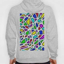 rainbow clown Hoody