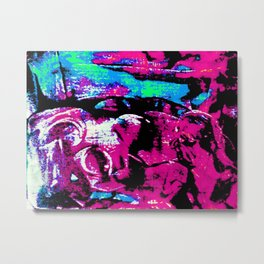 Farben-Abstrakt 2 Metal Print