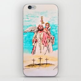 Death & Resurrection iPhone Skin