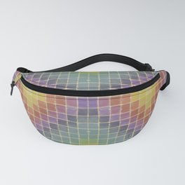 Chromatic Patchwork  Fanny Pack