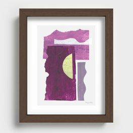 Sound Avenue I Recessed Framed Print