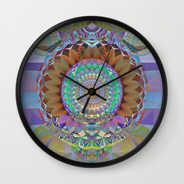 Innermost Cathedral II Wall Clock