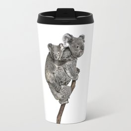 Mother Koala and her Baby Travel Mug