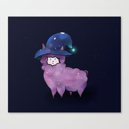 Witch Alpaca Canvas Print