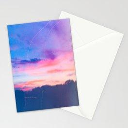 Cotton Candy Sunset Stationery Cards