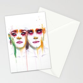Silence and Echo Stationery Cards