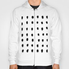 Jacques Pattern - Pure White Hoody