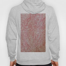 Flower (continuous red) Hoody