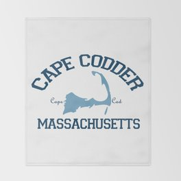 Cape Cod, Massachusetts Throw Blanket
