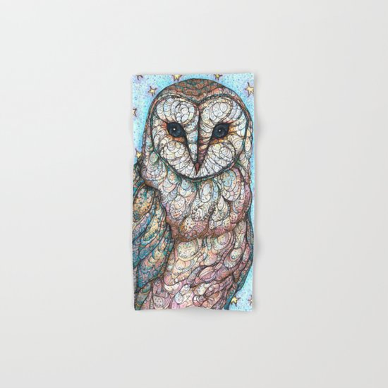 Barn Owl Hand & Bath Towel