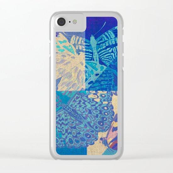 BLUEtterflies Clear iPhone Case