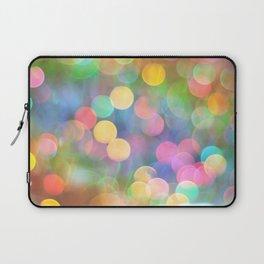 Rainbow Bokeh I Laptop Sleeve
