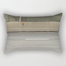 Concrete Autobahn Rectangular Pillow
