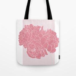 Floral Pinks Tote Bag