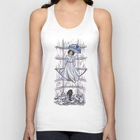 mortal instruments Tank Tops featuring Leia's Corruptible Mortal State by Karen Hallion Illustrations