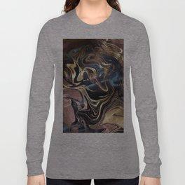 Liquid Gold Marble Long Sleeve T-shirt