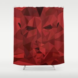 The Warlord Shower Curtain