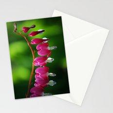 Bleeding Hearts Stationery Cards