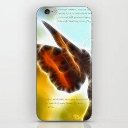 Autumn Moth iPhone Skin