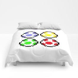 Minimalist Yoshi Eggs Comforters