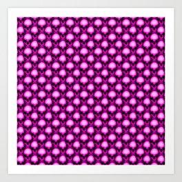 Too Many Pink Skulls Art Print