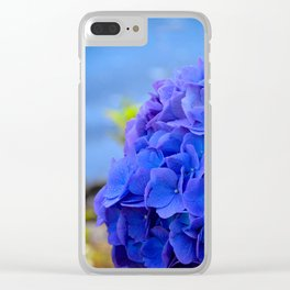 True Blue by Teresa Thompson Clear iPhone Case