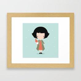 Amelie Framed Art Print