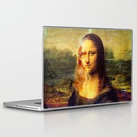 da vinci Laptop & iPad Skins featuring The Da Vinci Code by  Agostino Lo Coco