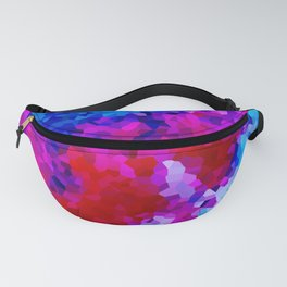 Rock Candy Blue Tie Dye. Fanny Pack
