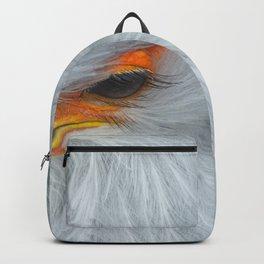 Feathers and eyelashes Backpack